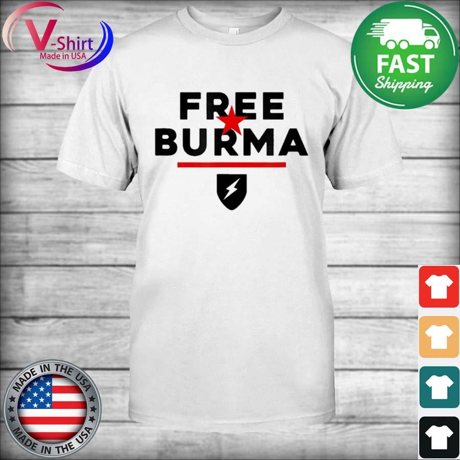 Official Free Burma 2021 Shirt
