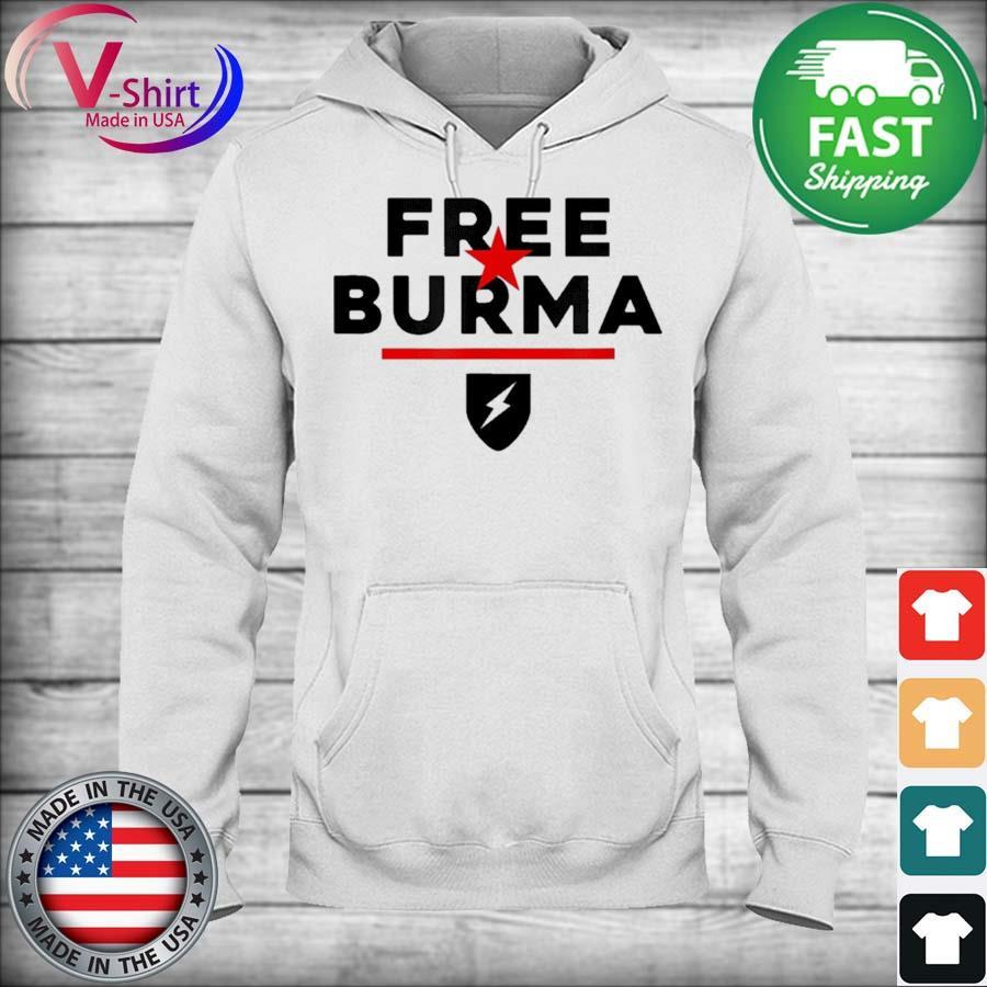 Official Free Burma 2021 Shirt hoodie