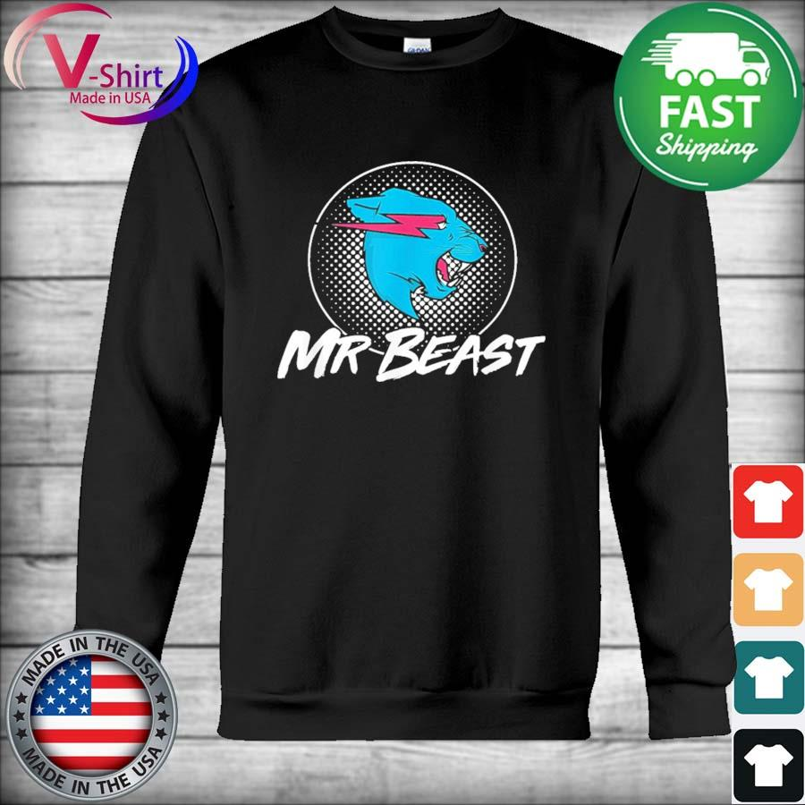 Official Mr Game Mr Beast With Gaming Style Gamer Shirt Hoodie