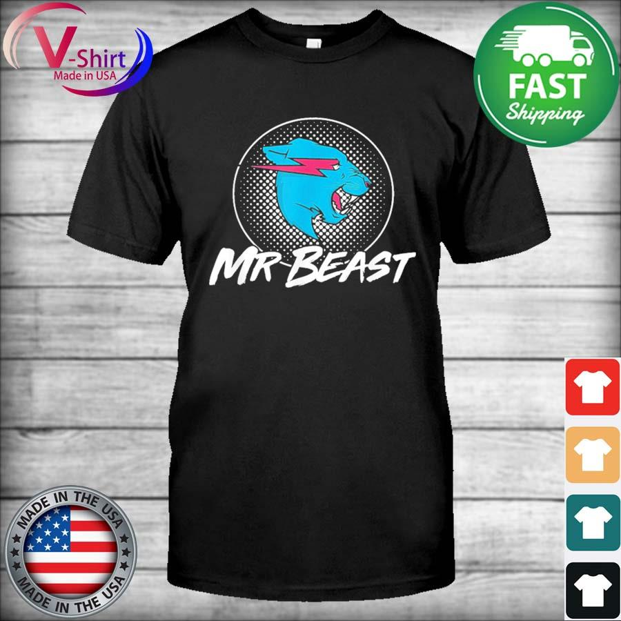 Official Mr Game Mr Beast With Gaming Style Gamer Shirt