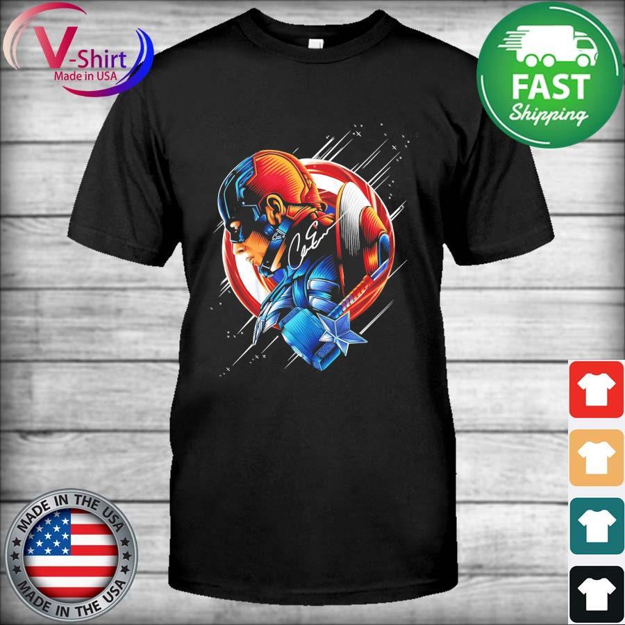Official Captain America Avengers signature shirt