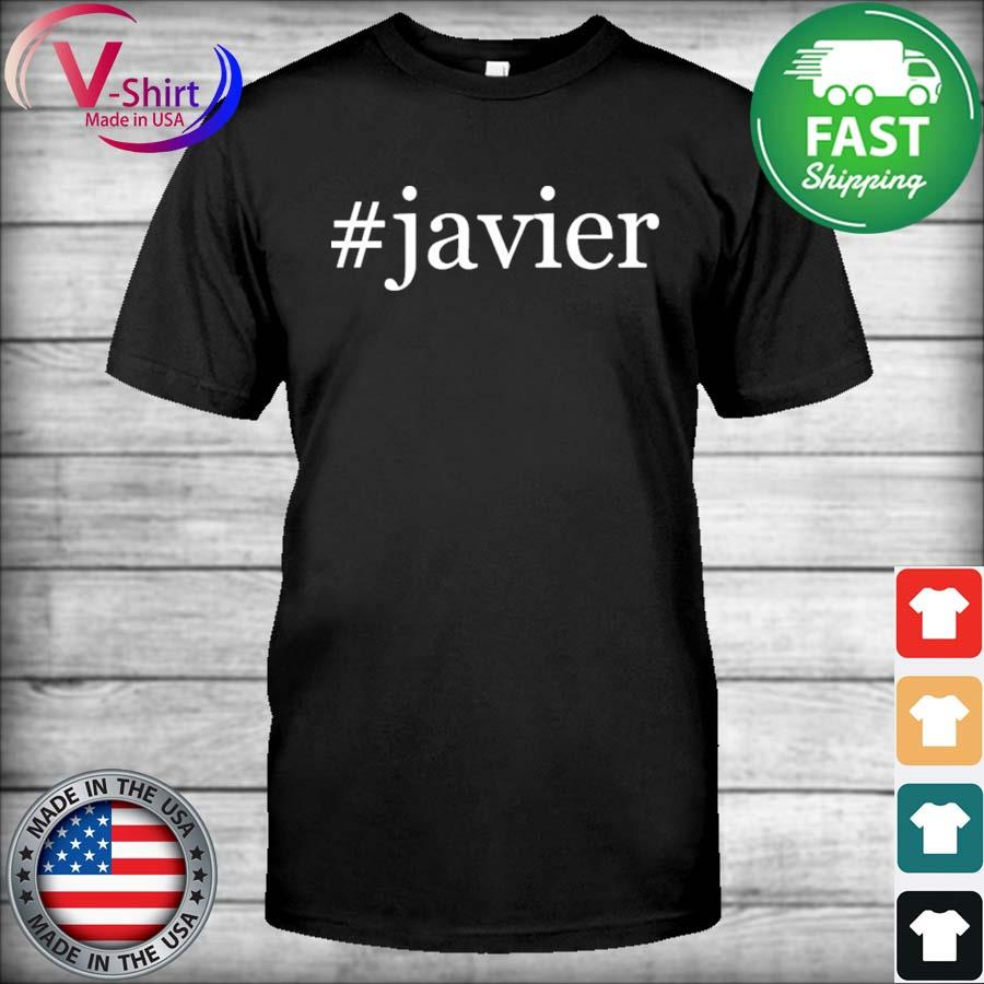 #Javier Soft and Comfortable Hashtag Shirt