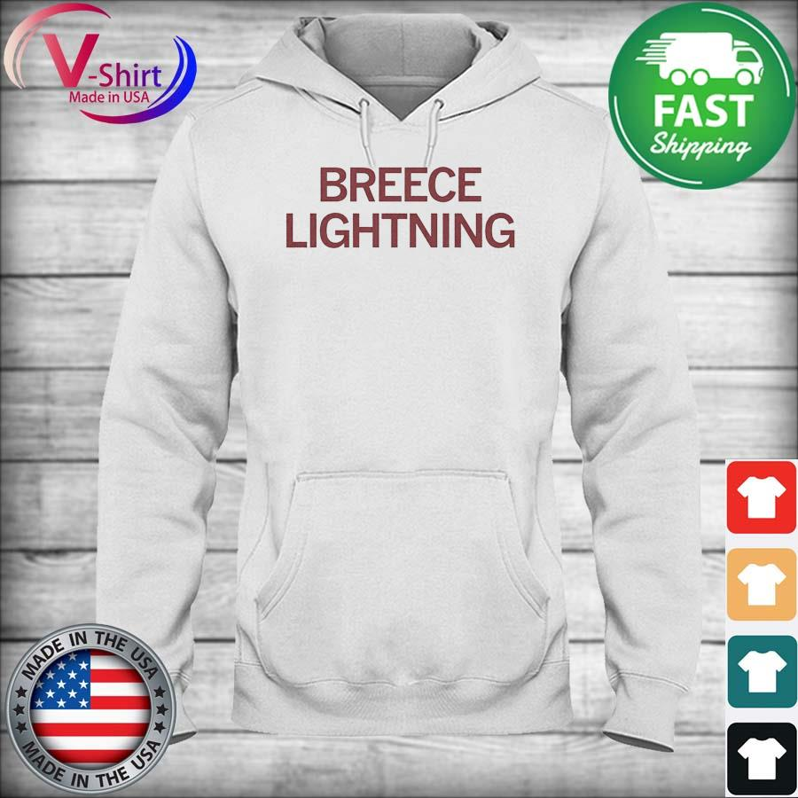 Official Breece Lightning Shirt hoodie
