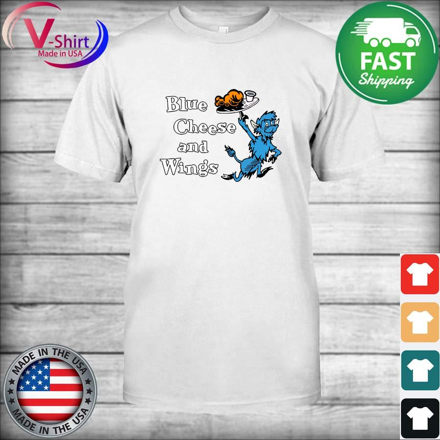 Official Buffalo Blue Cheese and Wings Shirt