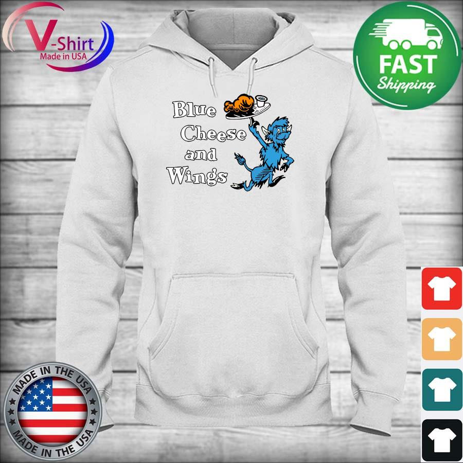 Official Buffalo Blue Cheese and Wings Shirt hoodie