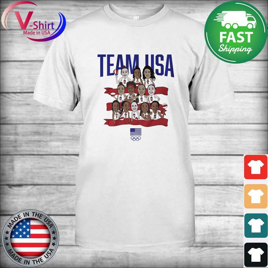 Team USA Tokyo WBB Team USA Shirt