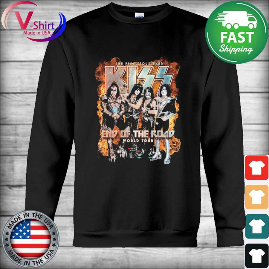 Official The Final Tour Ever Kiss end of the Road world tour s Hoodie