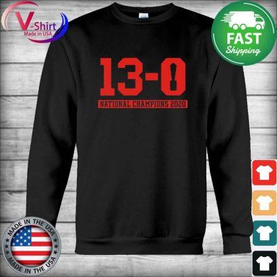 13-0 Alabama National Championship 2021 Shirt Hoodie