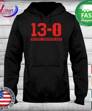 13-0 Alabama National Championship 2021 Shirt sweater