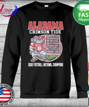 Alabama Crimson Tide 2020 Football National Champions s Hoodie