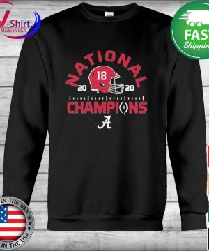 Alabama Crimson Tide Blue 84 College Football Playoff 2020 National Champions Tri-Blend s Hoodie
