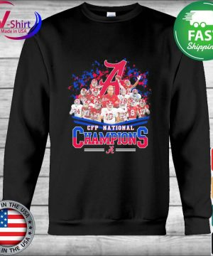 Alabama Crimson Tide CFP National Champions signatures s Hoodie