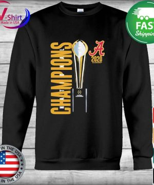 Alabama Crimson Tide Fanatics Branded College Football Playoff 2020 National Champions Celebration s Hoodie
