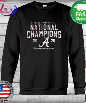 Alabama Crimson Tide Fanatics Branded College Football Playoff 2020 National Champions Pocket Tri-Blend s Hoodie