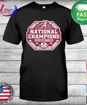 Alabama Crimson Tide Fanatics Branded College Football Playoff 2020 National Champions Sack shirt