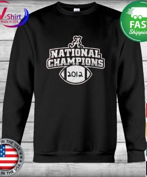 Alabama Crimson Tide National Champions 2012 s Hoodie