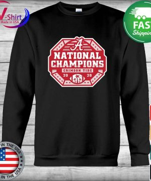 Alabama Crimson Tide National Champs 2020 2021 T-Shirt Hoodie