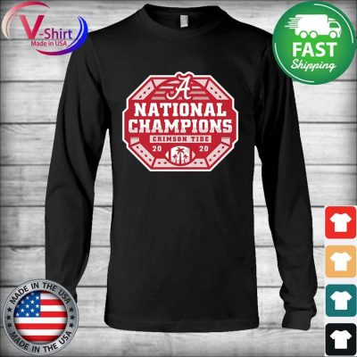 Alabama Crimson Tide National Champs 2020 2021 T-Shirt Long Sleeve