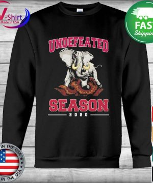 Alabama Crimson Tide Undefeated Season 2020 s Hoodie
