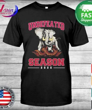 Alabama Crimson Tide Undefeated Season 2020 shirt