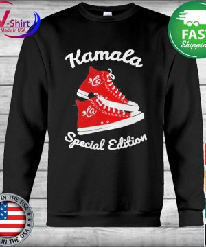 Comma La Funny Sneakers Kamala Special Edition tee Shirt Hoodie
