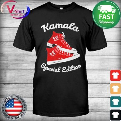 Comma La Funny Sneakers Kamala Special Edition tee Shirt