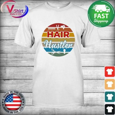 Hair Hustler Retro Vintage T-Shirt