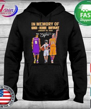 In Memory of Gigi Kobe Bryant January 26 2020 signature tee s sweater