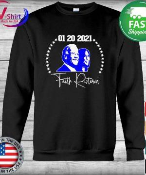 Joe Biden Kamala Harris 01 20 2021 Faith Ristoreal s Hoodie