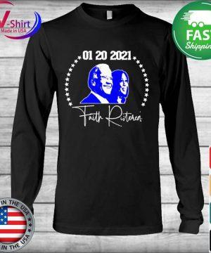 Joe Biden Kamala Harris 01 20 2021 Faith Ristoreal s Long Sleeve