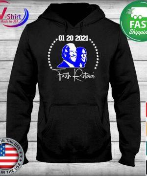 Joe Biden Kamala Harris 01 20 2021 Faith Ristoreal s sweater
