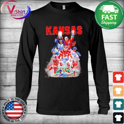 Kansas City Chiefs and Los Angeles Dodgers champions signatures s Long Sleeve