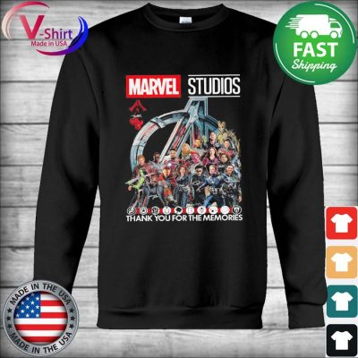 Marvel Studios thank you for the memories signatures 2021 tee s Hoodie