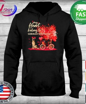 My heart belong to German Shepherd valentine s sweater