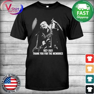 Official Alexi Laiho 1927 2021 thank you for the memories signature shirt