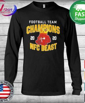 Official Football Team Champions 2020 Nfc Beast Shirt Long Sleeve