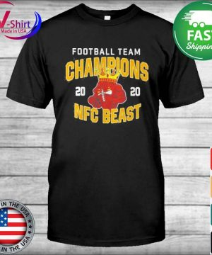 Official Football Team Champions 2020 Nfc Beast Shirt