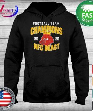 Official Football Team Champions 2020 Nfc Beast Shirt sweater