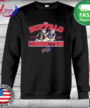 Official Josh Allen & Stefon Diggs Buffalo Bills Buffalo Connection s Hoodie
