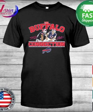 Official Josh Allen & Stefon Diggs Buffalo Bills Buffalo Connection shirt