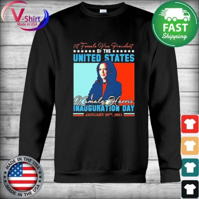 Official Kamala Harris First Female Vice President Biden Harris 2021 Inauguration Day T-Shirt Hoodie