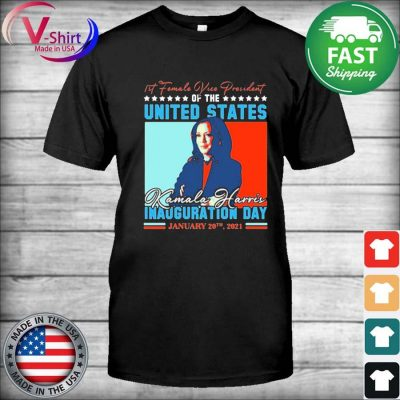 Official Kamala Harris First Female Vice President Biden Harris 2021 Inauguration Day T-Shirt
