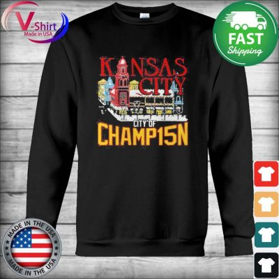 Official Kansas City City Of Champ15n Shirt Hoodie