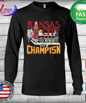 Official Kansas City City Of Champ15n Shirt Long Sleeve