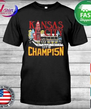 Official Kansas City City Of Champ15n Shirt
