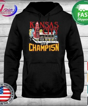 Official Kansas City City Of Champ15n Shirt sweater