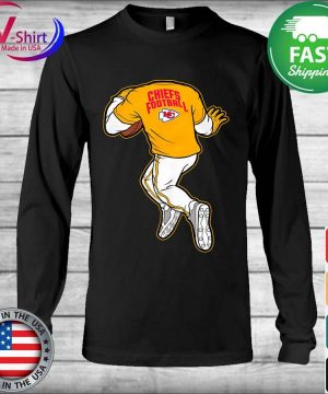 Official NFL Toddler Boys' Kansas City Chiefs Yard Rush II Graphic T-s Long Sleeve