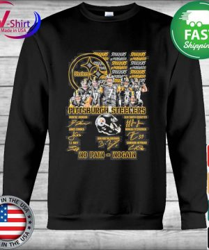 Official Pittsburgh Steelers No Pain No Gain signatures s Hoodie