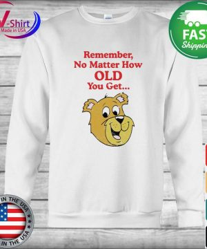 Scooby Doo Remember no matter how old you get s sweater