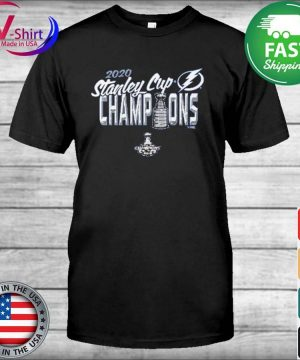 Youth Girl's Tampa Bay Lightning 2020 Stanley Cup Champions Script Winner T-shirt